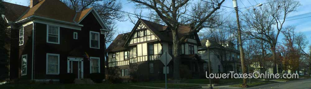 Lower property taxes in Cook County